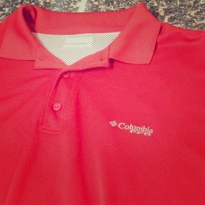 Columbia PFG vented Omni Shade polo
